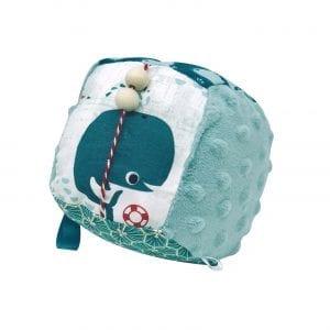 Cube d'activité et d'éveil – Bleu Baleine