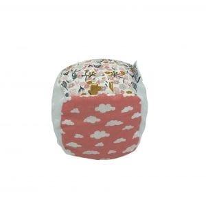 Cube d'activité et d'éveil – Rose Nuage