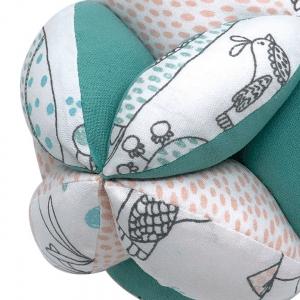 Balle de préhension Montessori –  Blanche Oiseaux