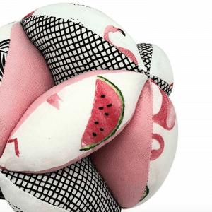 Balle de préhension Montessori –  Rose Pastèque