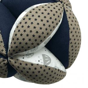 Balle de préhension Montessori – Kaki Etoiles
