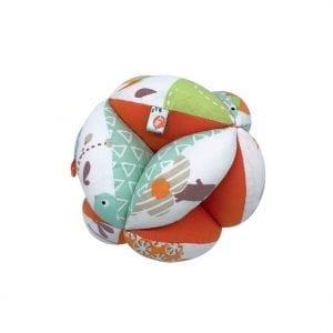 Balle de préhension Montessori –  Orange Forêt