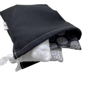 Coussins sensoriels Montessori – Noir et Blanc