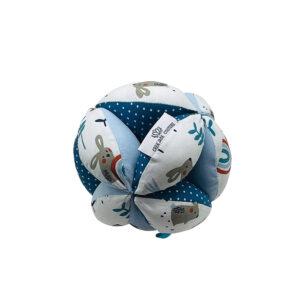 Balle de préhension Montessori –  Bleu Lapin